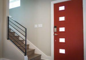 korytarz w domku jednorodzinnym