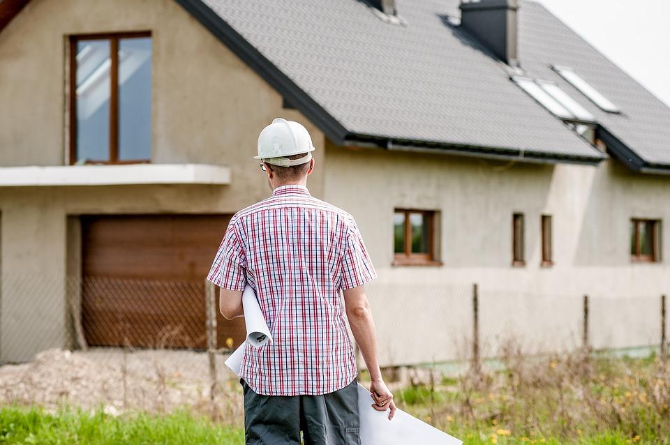 architekt na budowie
